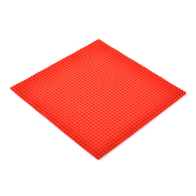 Custom Colorful Silicone Seat Pads Function Massage Cushion 39*39*3cm