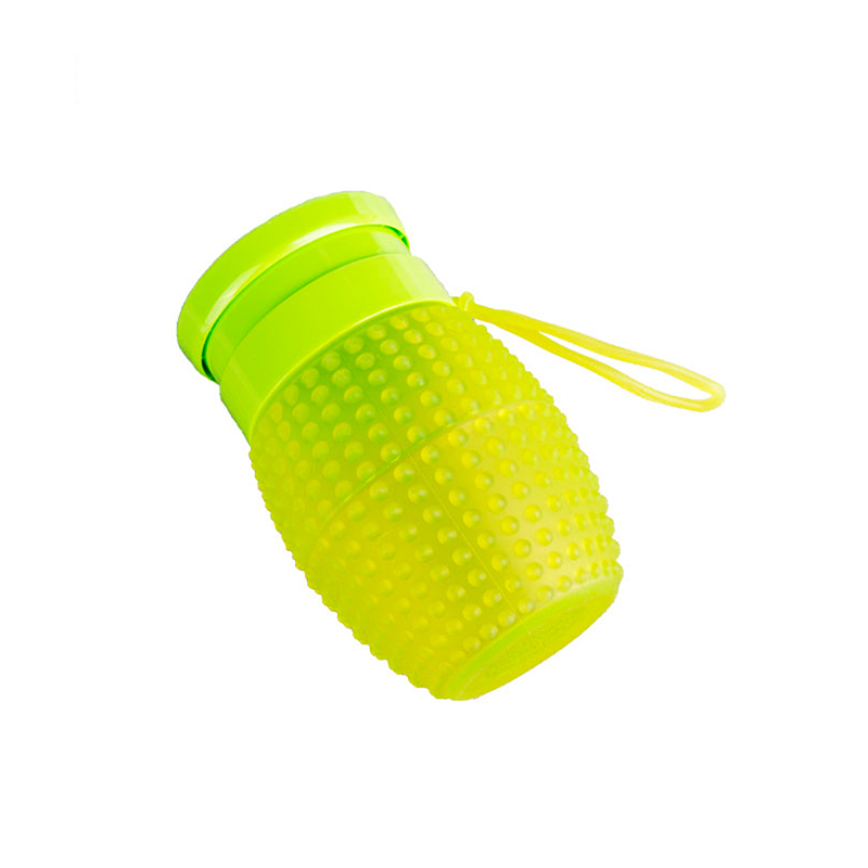 FDA Approved Anti-bacterial Mini Collapsible Silicone Water Bottle
