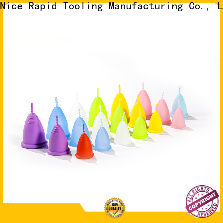 Nice Rapid soft silicone menstrual cup shipped to business for shop
