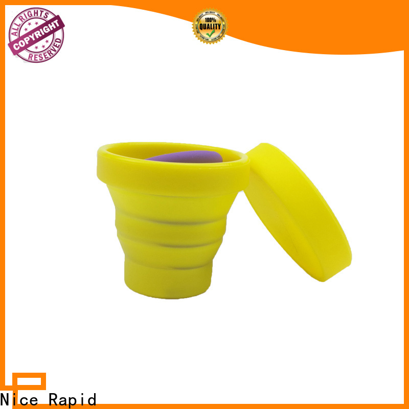 Wholesale eco squeeze silicone water bottle company for water drinking