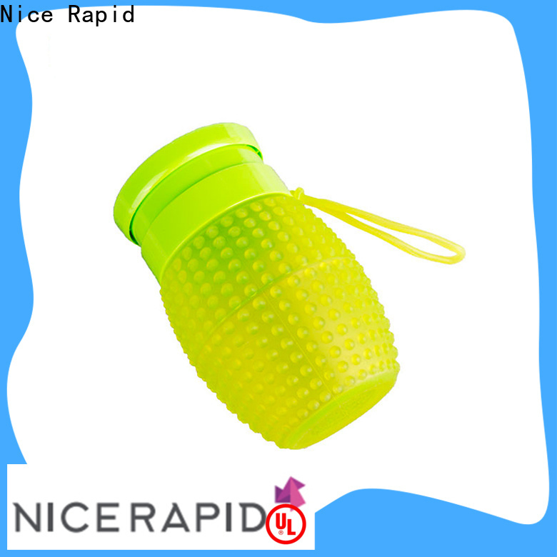 Nice Rapid silicone bottle company for camping