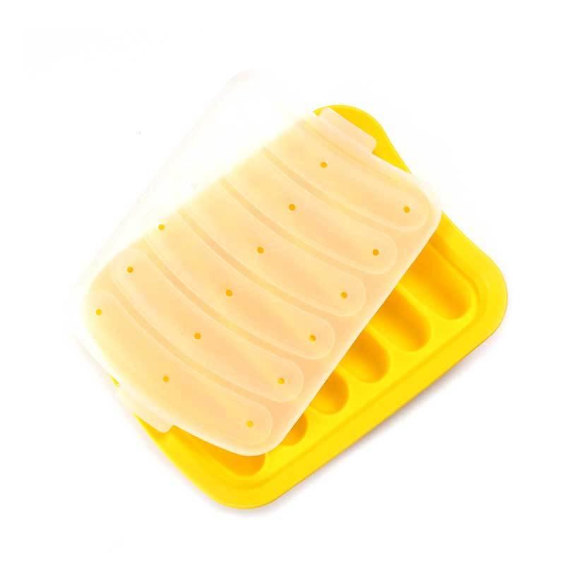 Food Grade Silicone Mold 6 Cavities for DIY Sausage Hot Dog