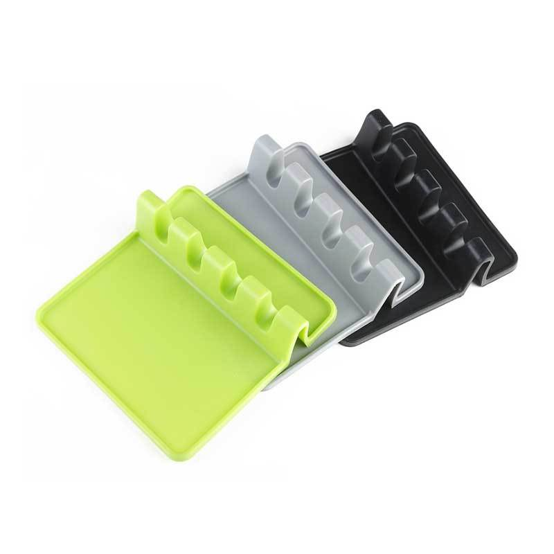 Silicone Dish Plate Mold for Kitchen Tool Rack Spatula Mat