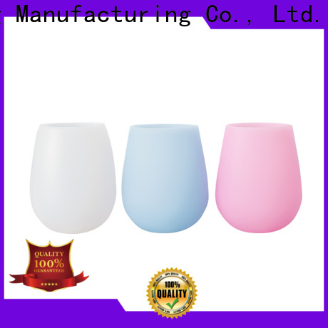 Custom silicone drink bottle shipped to business for water drinking
