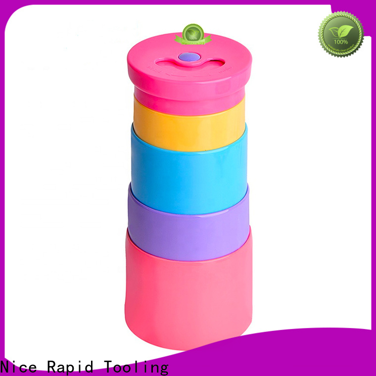 Nice Rapid silicone foldable bottle factory for camping