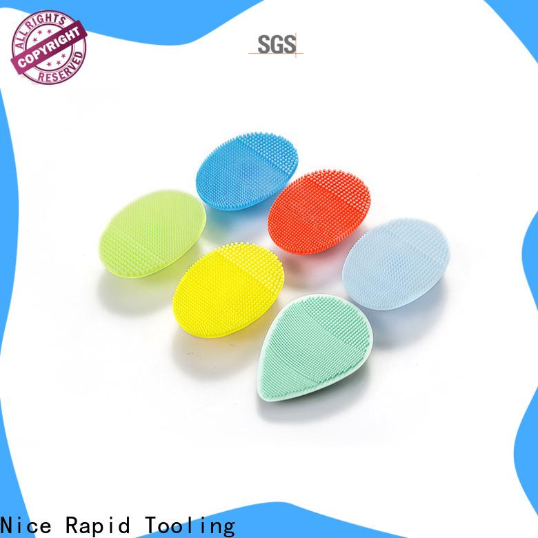 Custom best silicone face brush bulk buy for face washing