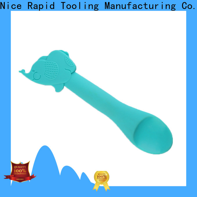 Nice Rapid BPA Free baby feeding silicone spoon company for baby store