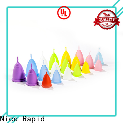 Wholesale reusable medical silicone menstrual cup company for women