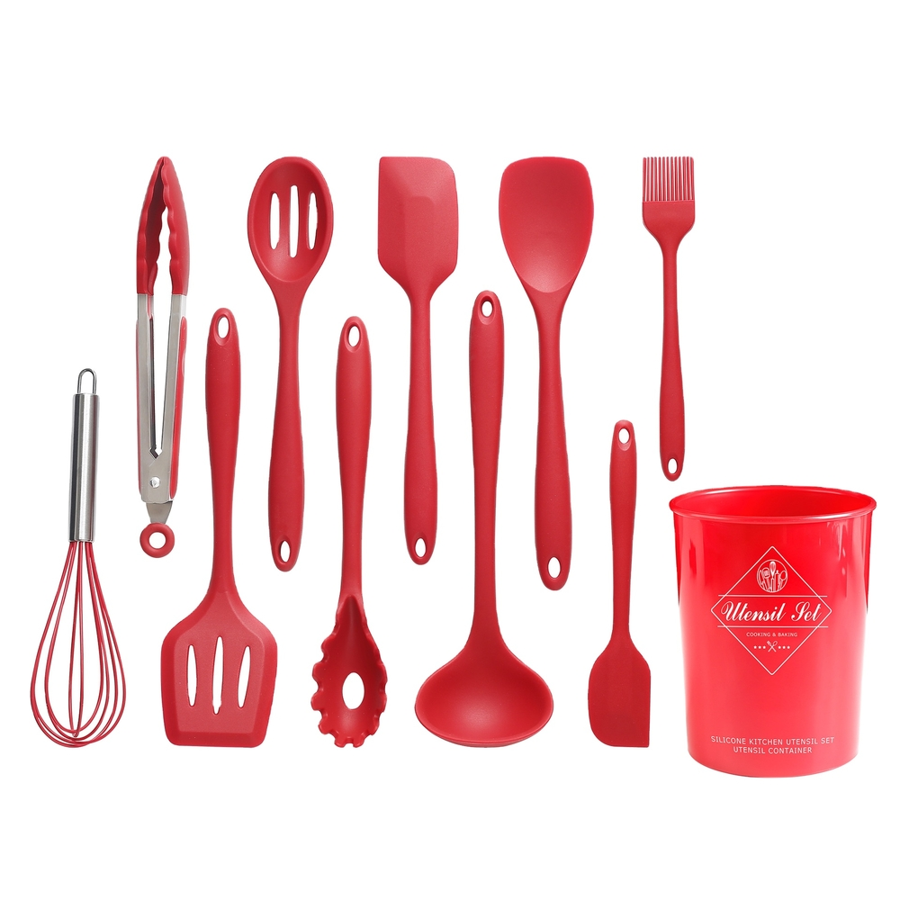 Silicone Utensils Mold Series for Accessories Silicone Kitchen Tools 10 sets