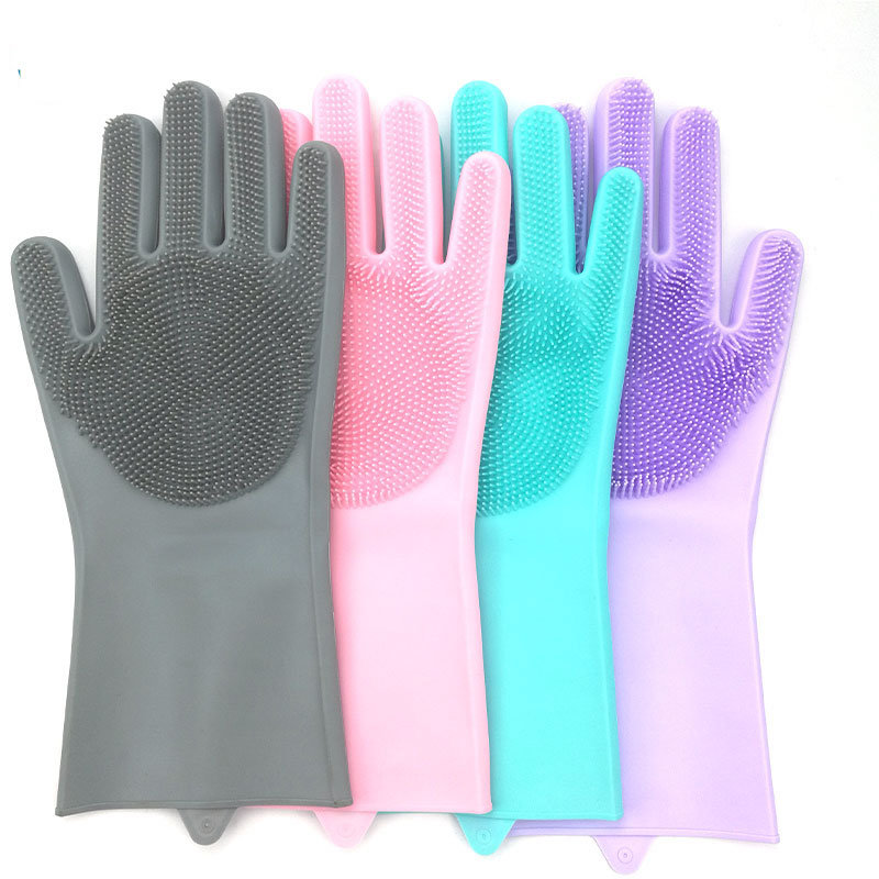 Silicone Cleaning Gloves Mold for Dishwashing Gloves Kitchen
