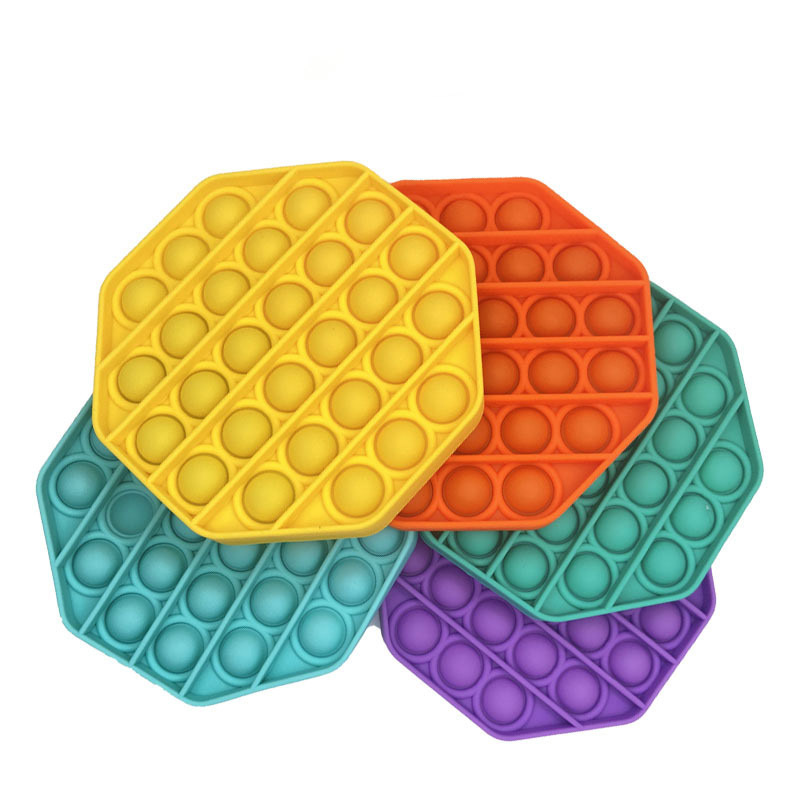 Silicone Bubble Toys Mold for Educational Decompression Game