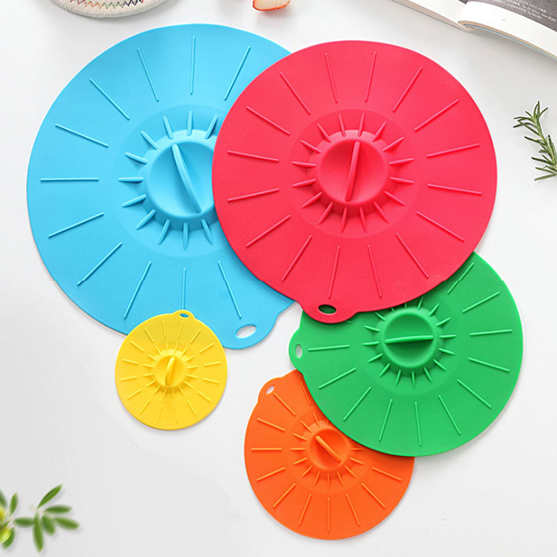 Silicone Suction Lids Mold for Cups, Bowles, Pans or Containers