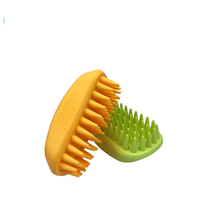 Silicone Brush Mold for Pet Hair int Bath Massage Fur Remover