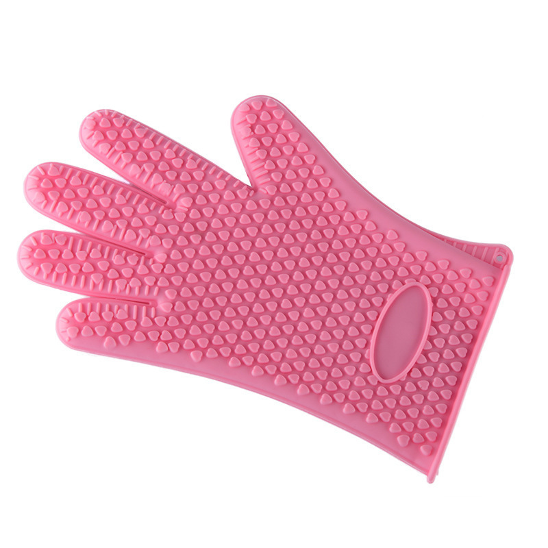 Extreme Heat Resistant Silicone Gloves Mold for Oven Baking