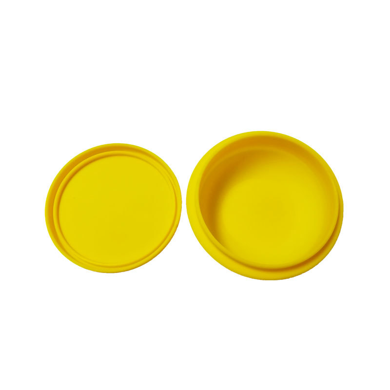 Silicone Cartoon Bowl Mold for Pet Dog Cat Food Storage